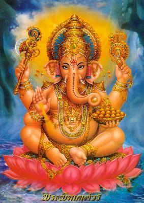 Les parents de Ganesh sont Parvat et Shiva . Plusieurs histoires ...