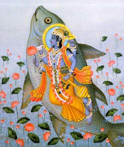 "Livre ""BHAGAVAD GITA"": partageons ensemble si vous l'avez lu ou le lirez - Page 2 Matsya_jpg"